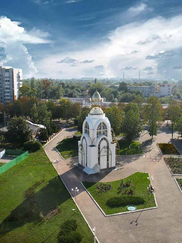 Часовня во дворе Черкасского Национального Университета
