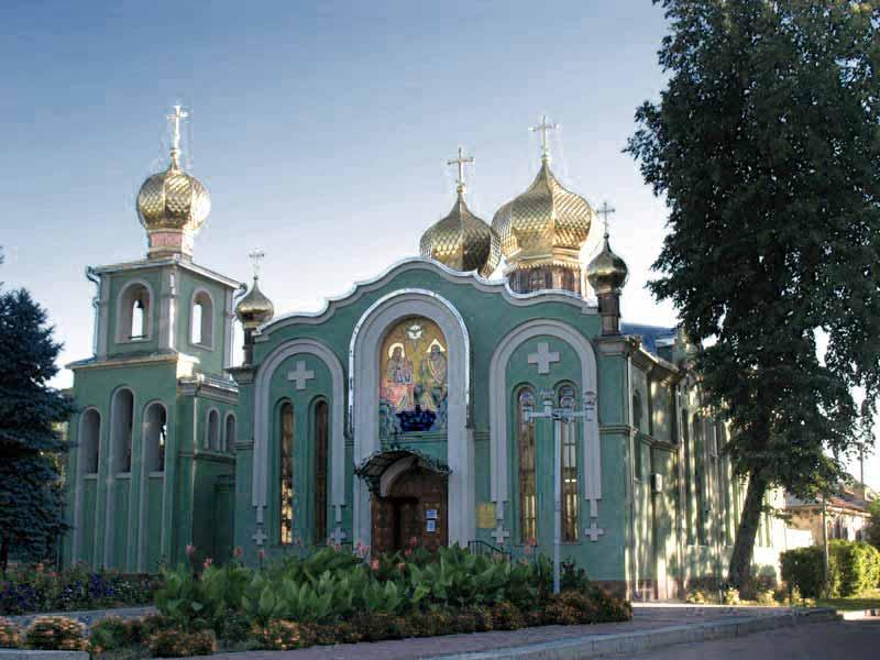 Свято-Троицкий кафедральный собор в Черкассах