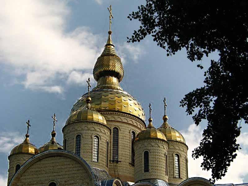 Свято-Михайловский кафедральный собор купола