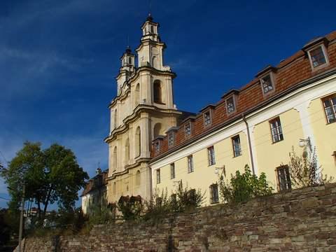 Монастырь и церковь василиан в Бучач