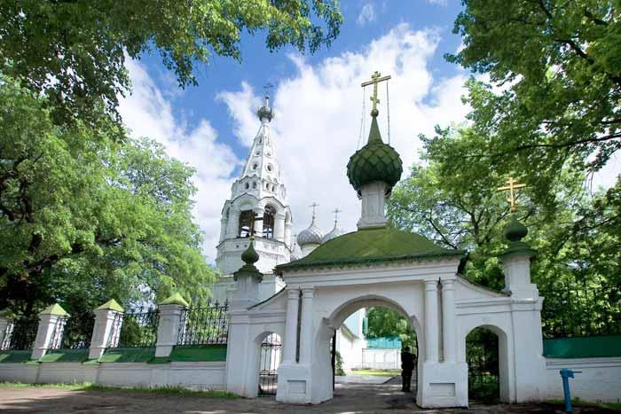 Церковь Спаса Преображения в Спасской слободе