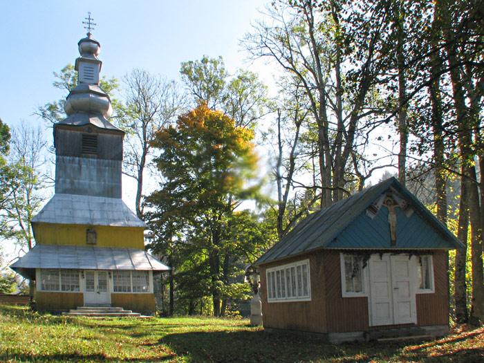 село Подобовец. Николаевская церковь