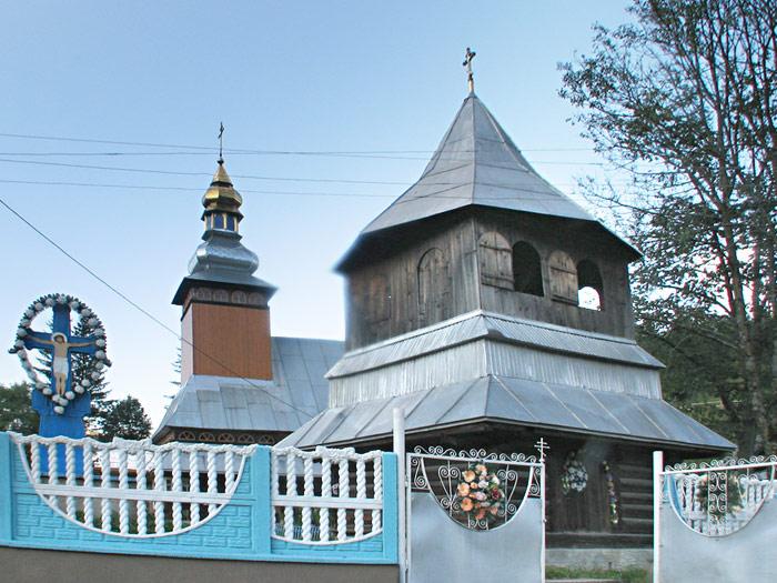 село Торунь. Введенская церковь