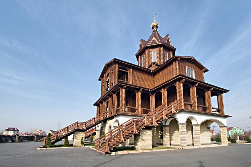 Храм Покрова Божьей Матери село Гатное