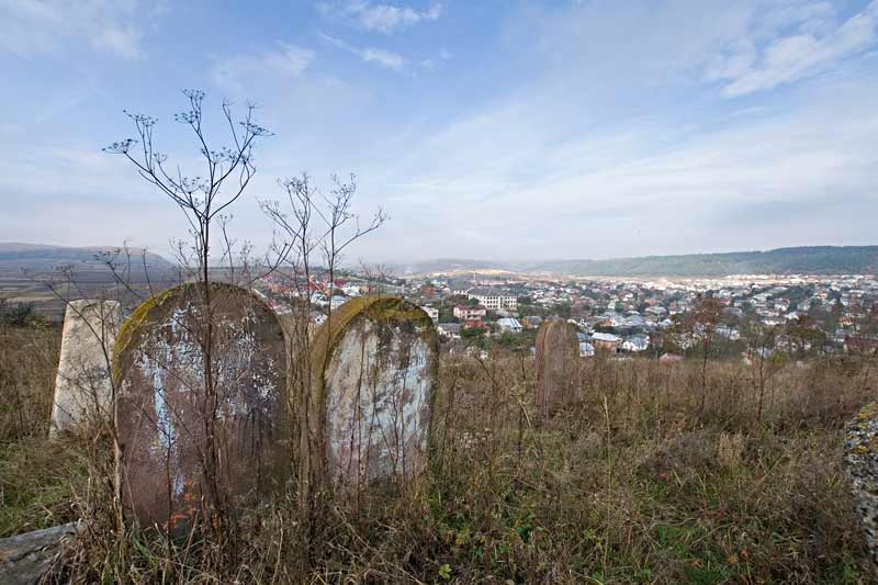 Бережаны. Еврейское кладбище