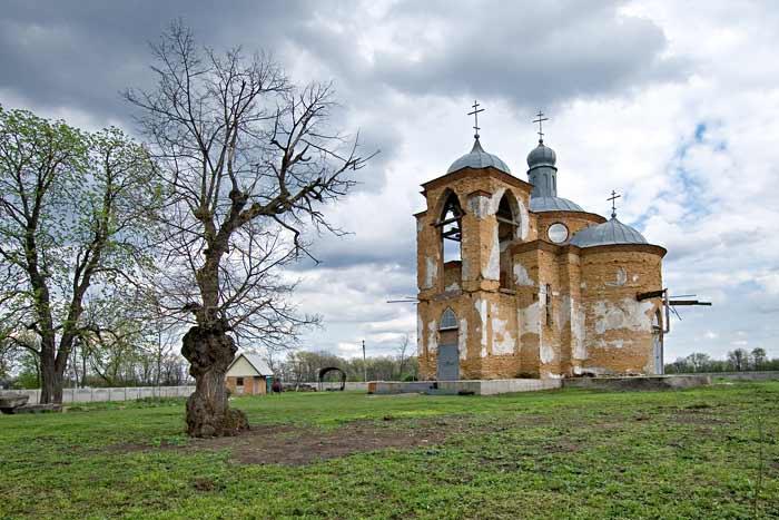 Петропавловская церковь в селе Мойсевка