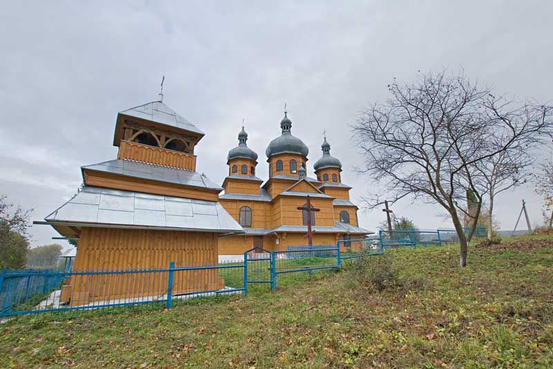 Разгадов. Церковь Св. Праскевы