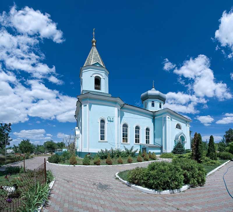 Церковь в Васильевке
