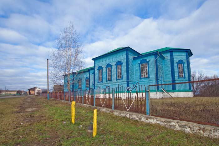 церковь в селе Васильков Шполянского района