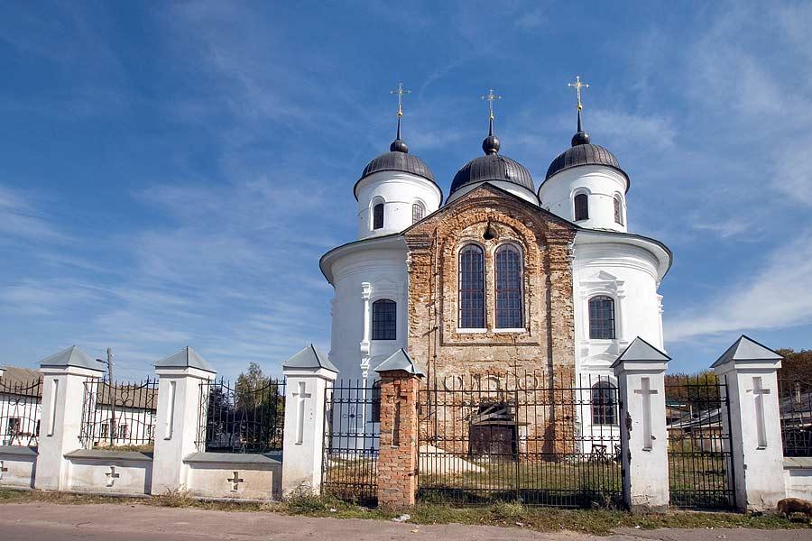 Нежин. Благовещенский монастырь фасад