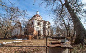 Радьковка Руины Вознесенской церкви