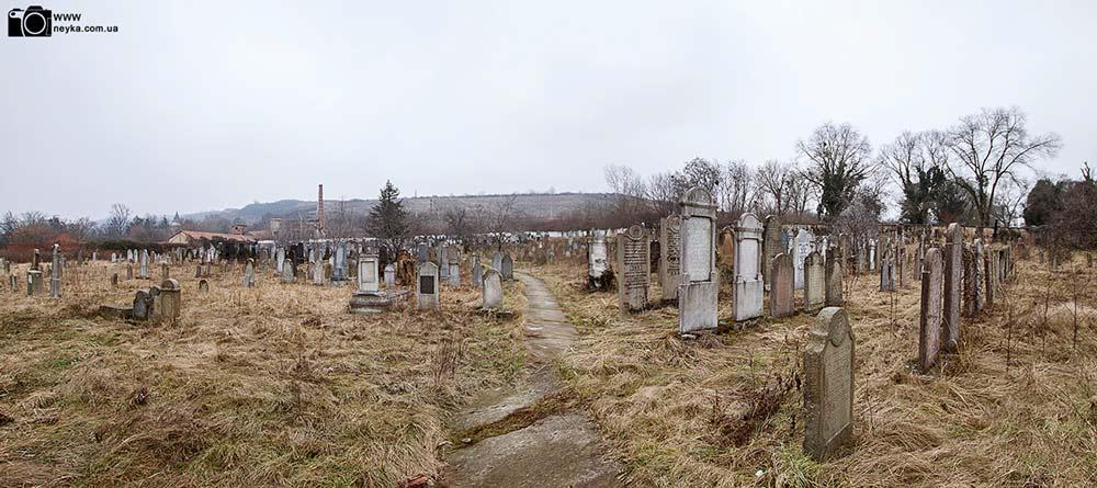 Еврейское кладбище в берегово панорама