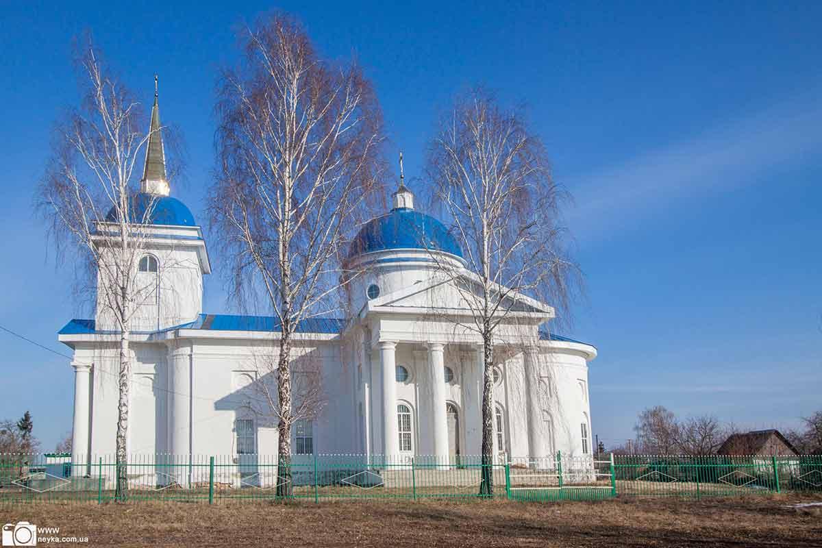 Новый Быков. Церковь Успения Богородицы