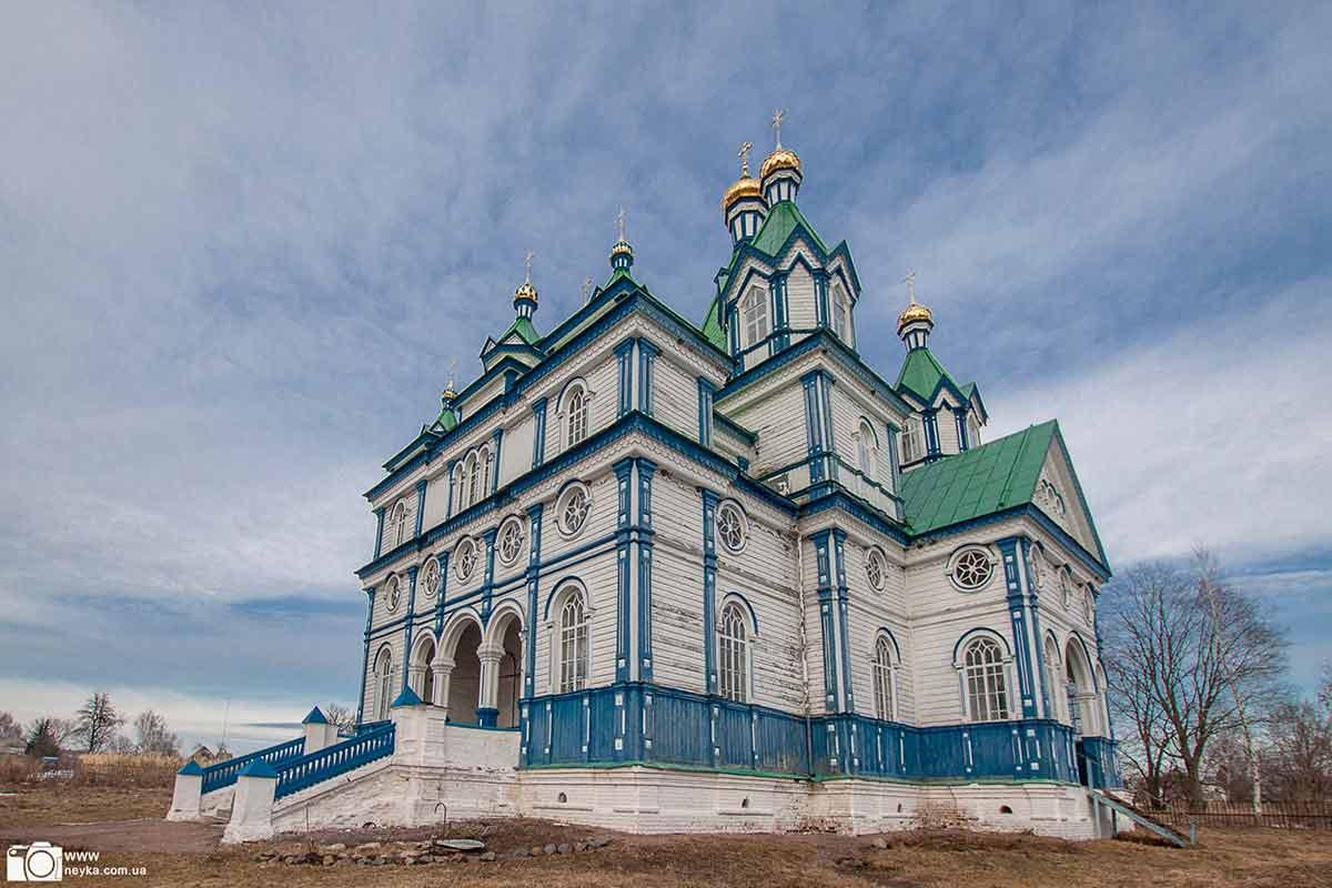Сильченково. Успенская церковь