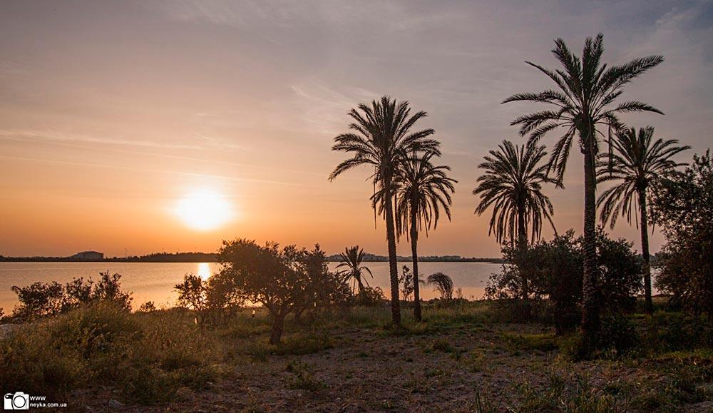 Кипр на рассвете