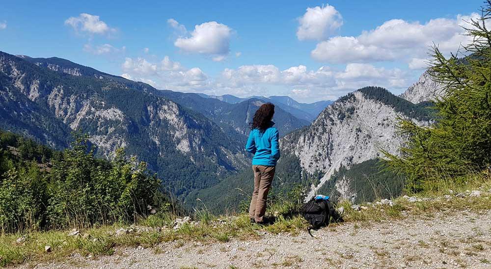 Хелленталь турист в горах