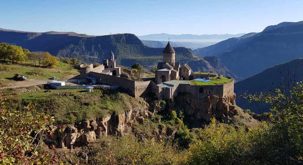 Татев Монастырь панорама