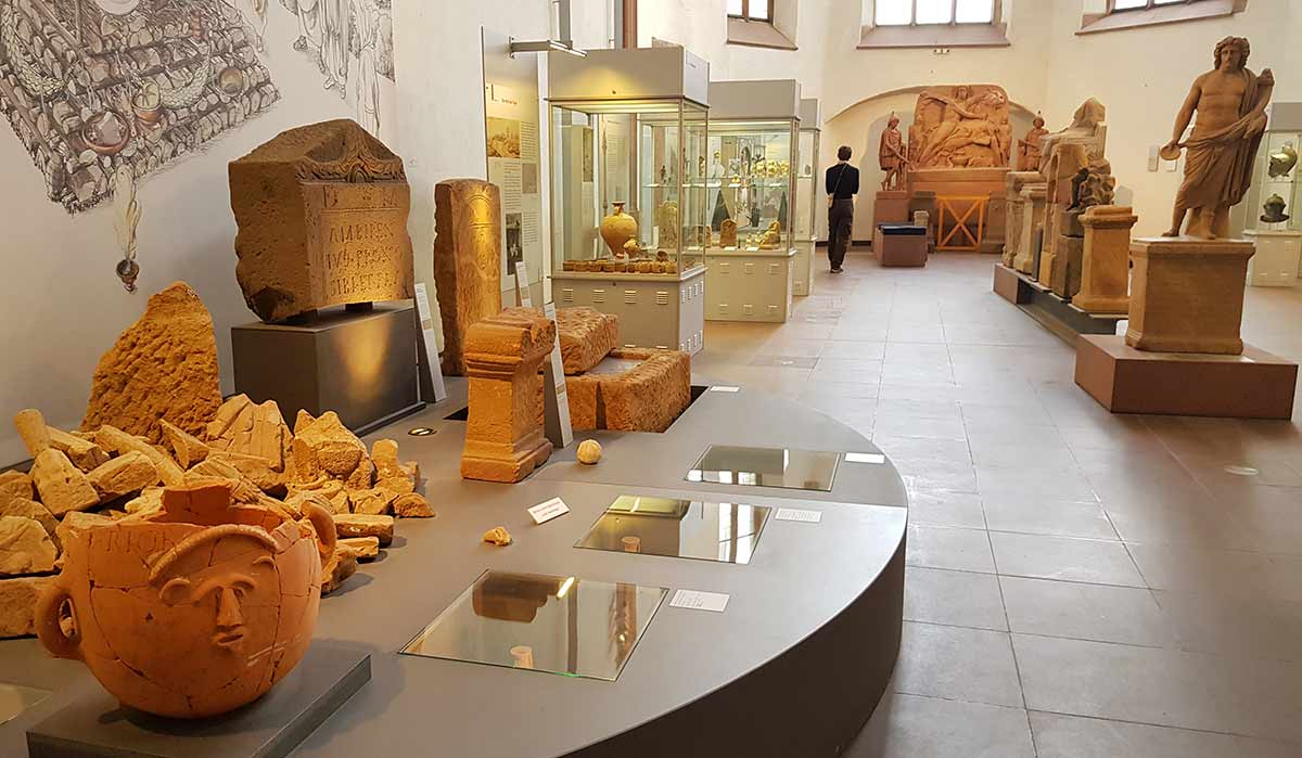 Археологический музей Франкфурт
