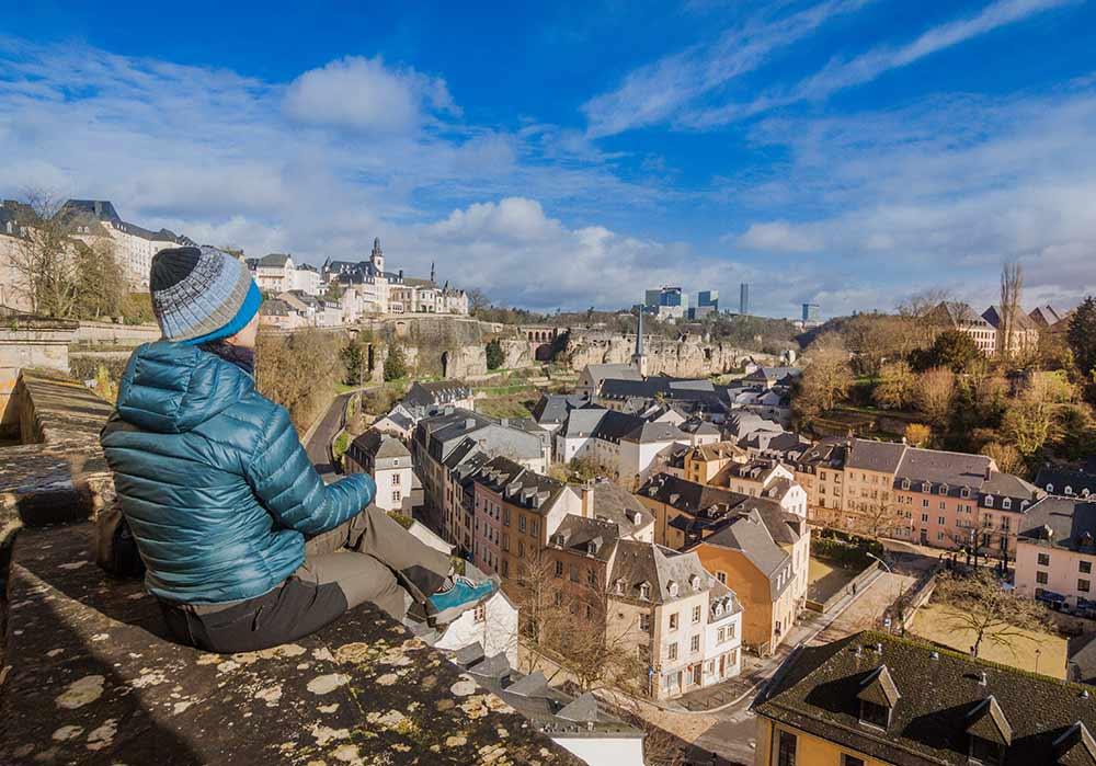 Люксембург старый город