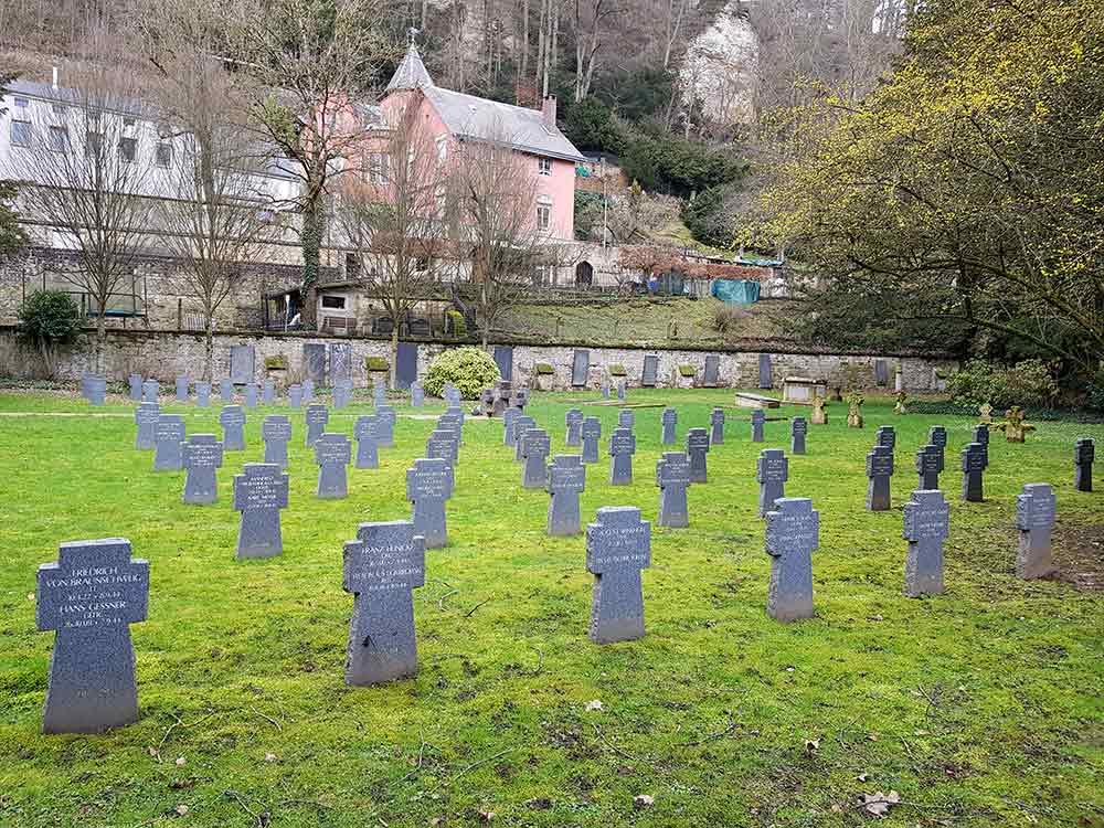 Люксембург немецкое кладбище