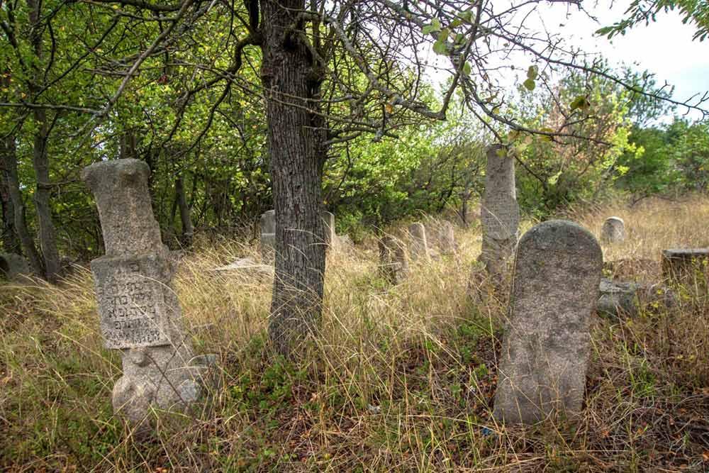 Еврейское кладбище Богуслав