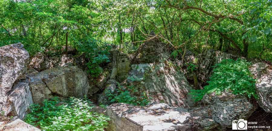 339 ДОТ КиУр руины панорама